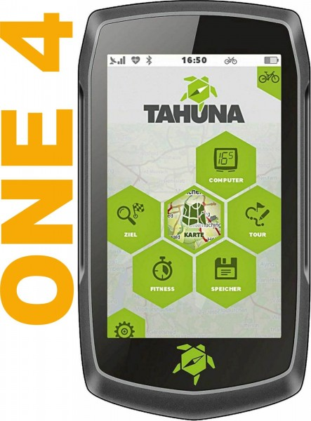 TEASI One 4 Outdoor-Navigationsgerät mit Bluetooth, Kompass und Europakarte - B-WARE